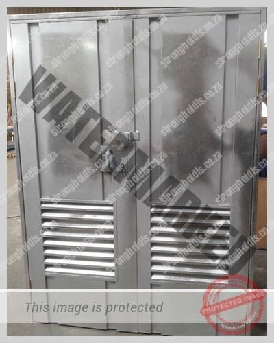 Galvanised Transformer Door 1