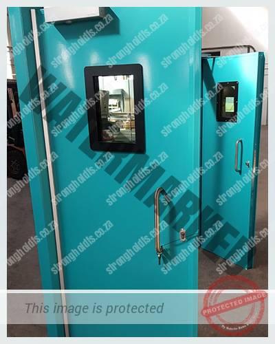 Powder Coated Antibandit Doors 1