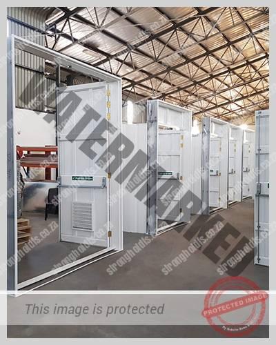 Powder Coated Transformer Doors 15 1